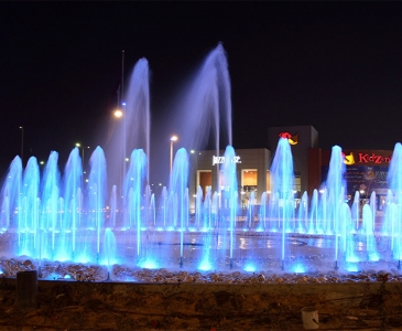 Cairo Festival City Sitewide Water Features, Cairo, Egypt