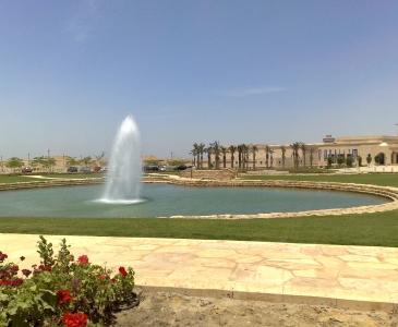 Uptown Cairo Sales Center Water Features, Cairo, Egypt