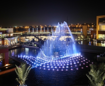 Cairo Festival City Mall Water Features, Cairo, Egypt