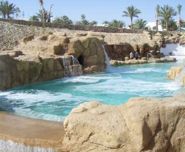 Sheikh Coast (Domina) Pools and Water Features, Sharm El Sheikh, Egypt