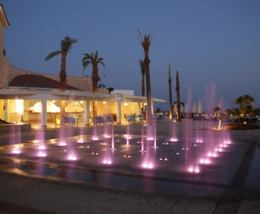 Reef Oasis Hotel Dry Deck Water Feature, Sharm El Sheikh, Egypt