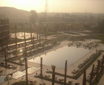 Mena house Obroi Hotel Water Features, Giza, Egypt